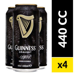 Four Pack Guinness Draught Stout 440 cc